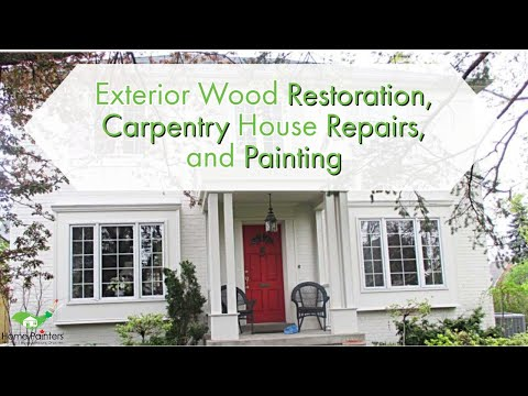 Best Outdoor Paint For Wood Home Painters Toronto