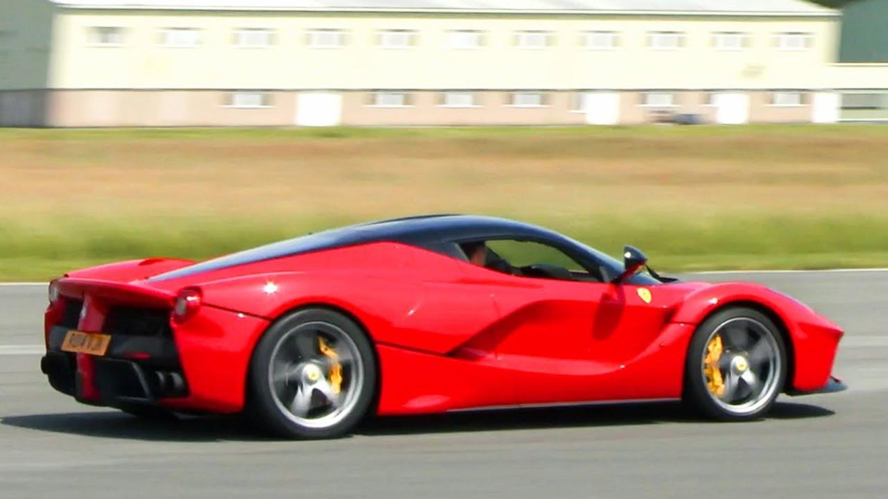 Chris Evans Ferrari Laferrari On The Top Gear Test Track Youtube