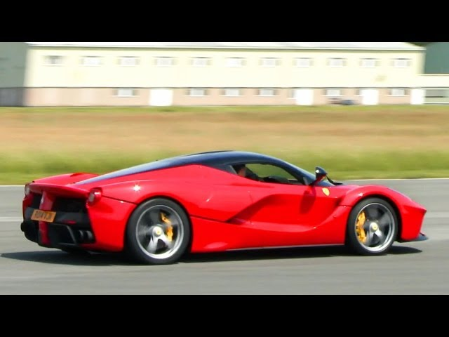 Video: Chris Evans Takes His Ferrari LaFerrari Around The Top Gear
