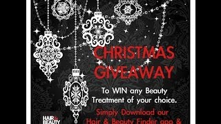 NEW YEARS BEAUTY TREATMENT GIVEAWAY- by Hair and Beauty Finder App Thumbnail