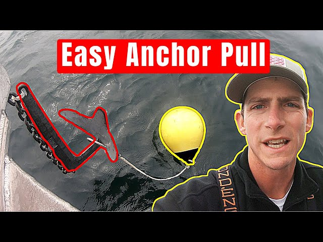 How to Pull Anchor with an Anchor Ball (No Windlass)