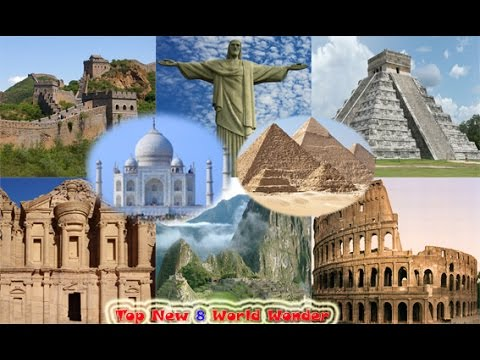 Top 8 Wonders of the World - World Travel Guide - YouTube
