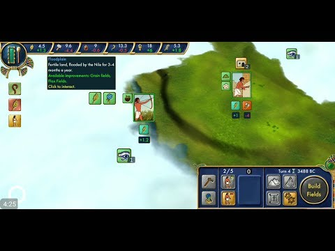 Egypt: Old Kingdom (by clarusvictoria) - strategy game for android and iOS - gameplay.