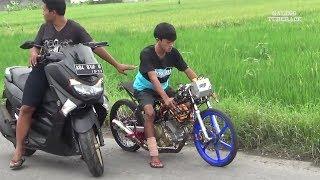 SATRIA FU INJECTION 200cc YANG LAGI HITZ DI INDONESIA ABAKURA feat KIKY CODET