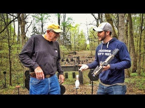 Hickok45 обзирает странные пушки из коллекции Мэтта | Разрушительное ранчо | Перевод Zёбры