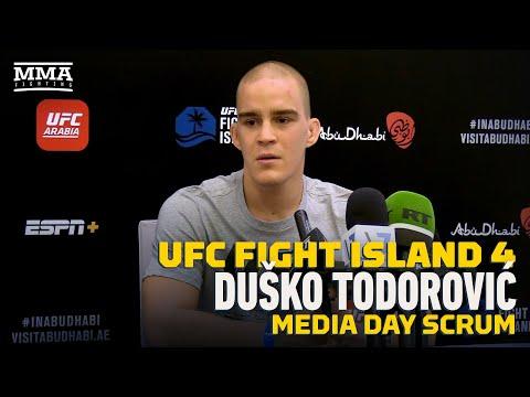 UFC Fight Island 4: Dusko Todorovic Wants To Be 'Novak Djokovic of MMA' In Serbia - MMA Fi