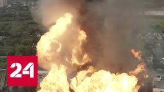 Факел в Мытищах: пожар перекинулся на общежитие, погиб один человек - Россия 24