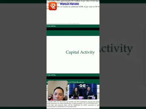 Investor Presentation Review GECC - Great Elm Capital Corporation