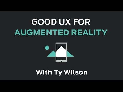 Good UX For Augmented Reality