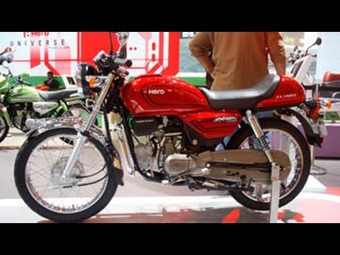 Hero MotoCorp Splendor Classic Pro Unveiled At Delhi Auto Expo 2014