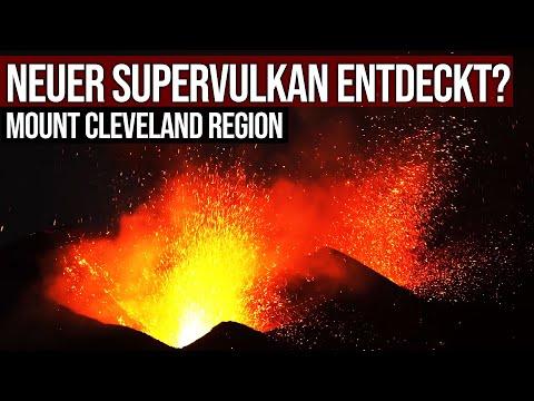 Neuer Supervulkan entdeckt? - Mount Cleveland Region