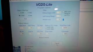 How To Connect To VCDS VAG COM