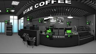 NCR Digital Connected Premise 360 Experience for Coffee Shops
