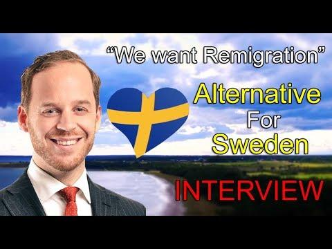 New PATRIOTIC Swedish Party | Interview w/ Party Leader Gustav Kasselstrand | Alternative For Sweden