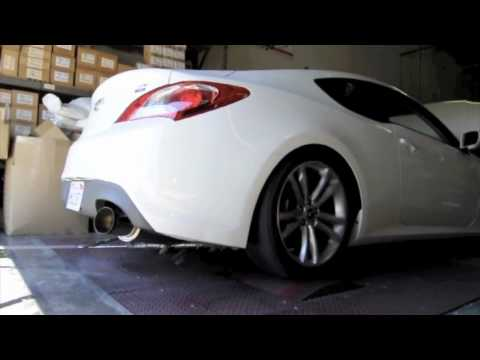 HYUNDAI GENESIS COUPE ARK PERFORMANCE 2.0T GRIP DUAL AND N2 SINGLE DYNO TEST