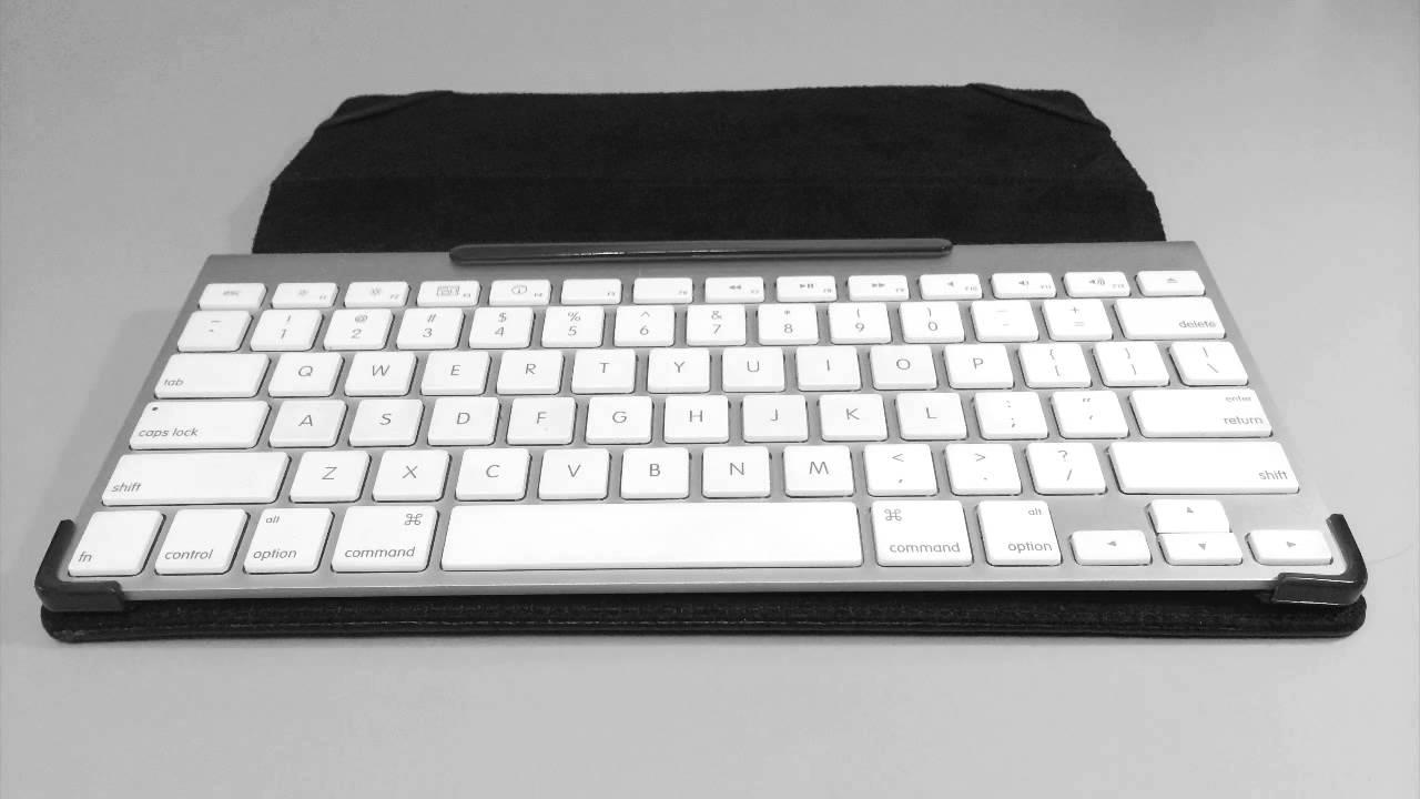 maroo otago apple wireless keyboard cover youtube. Black Bedroom Furniture Sets. Home Design Ideas
