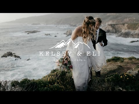 Adventurous Big Sur Elopement Wedding Video