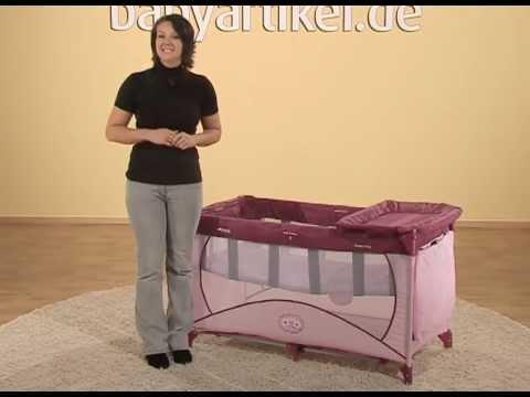 hauck reisebett dream 39 n play 2012 youtube. Black Bedroom Furniture Sets. Home Design Ideas