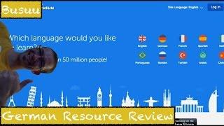 Busuu - German Resource Review - Deutsch lernen