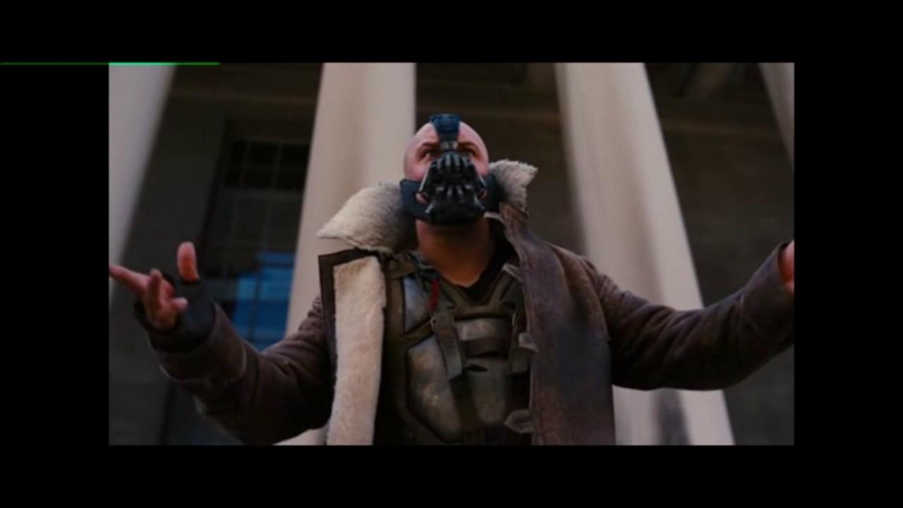 Discurso De Bane Dublado Batman O Cavaleiro Das Trevas Ressurge