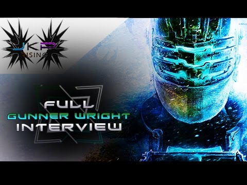 Gunner Wright Isaac Clarke TALKS DEAD SPACE  Involvement with the series & MORE  Full