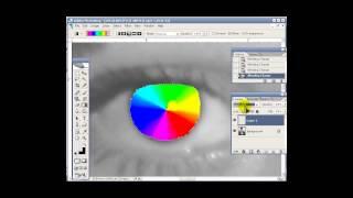 Уроки Photoshop #42. Глаза всех цветов радуги