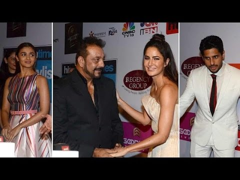 Salman Khan with Sanjay Dutt, Katrina kaif and Sidharth Malhotra Comedy
