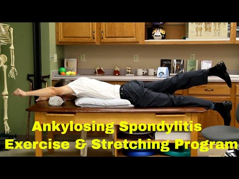 Ankylosing Spondylitis Exercise & Stretching Program (Seated & Floor Program)
