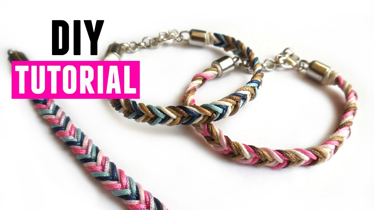 How To Make A Fishtail Bracelet - DIY Jewelry Making