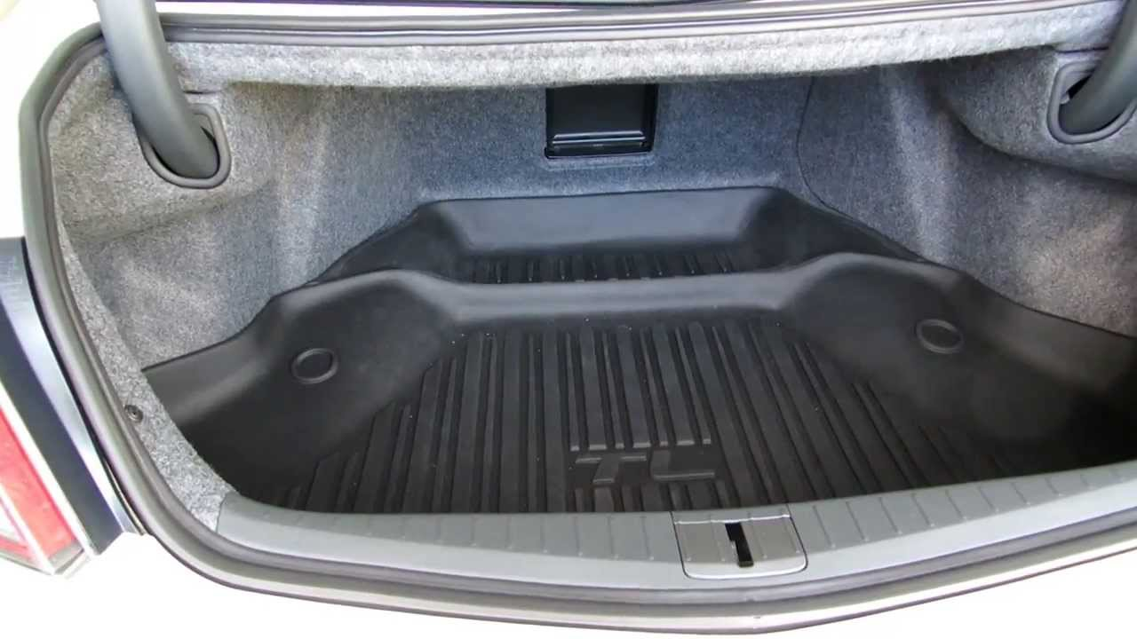 Review of the Acura OEM Cargo Liner/Tray and Net - YouTube