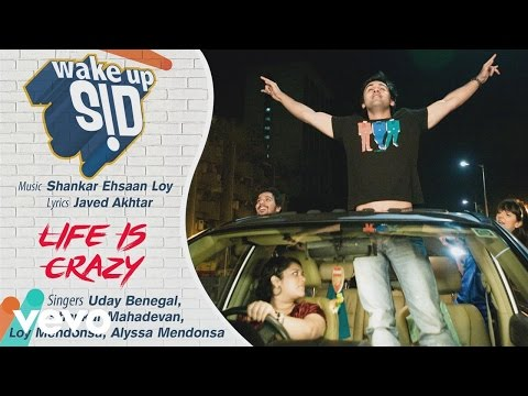 Life is Crazy - Official Audio Song   Wake Up Sid  ...