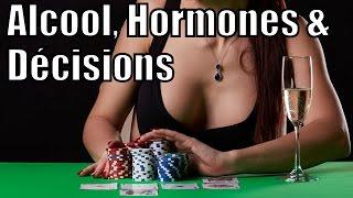 Alcool, hormones & décisions — Crétin de Cerveau #6