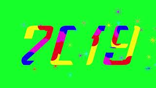 Happy New Year 2019 & Green Screen Effects 1080p HD