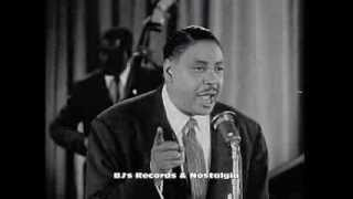 BIG JOE TURNER.  Shake, Rattle & Roll.  Live 1954 Performance from Rhythm & Blues Revue