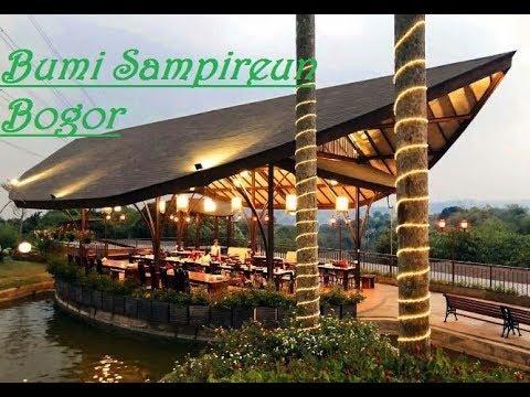 Bumi Sampireun Vimala Hills Bogor Youtube