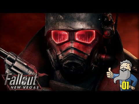 "Fallout New Vegas Gameplay Walkthrough Part 1 - ""The RETURN of Genny The Jerk!!!"" 1080p HD"
