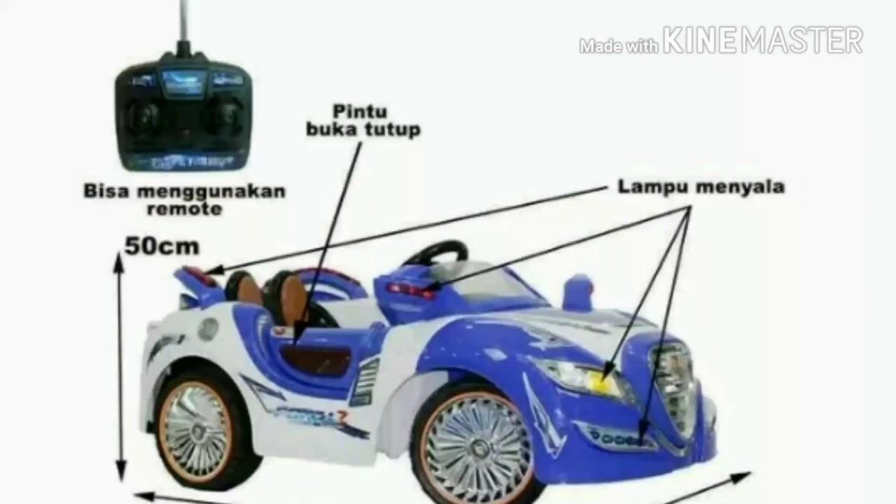 Mainan Anak Mobil Aki Remote PMB M 3018 Blue YouTube