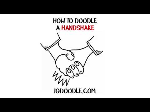 How to Draw a Handshake (drawing tips)