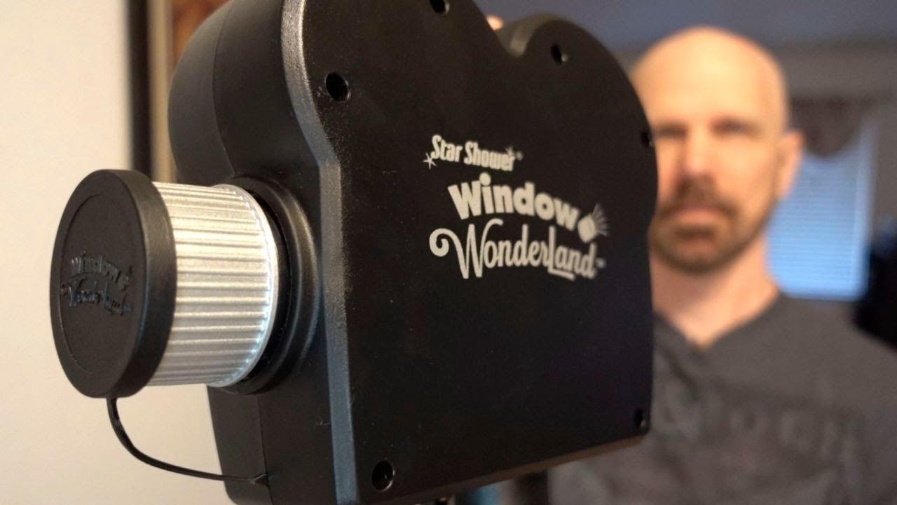 Star Shower Window Wonderland Review Next Gen Holiday Lights