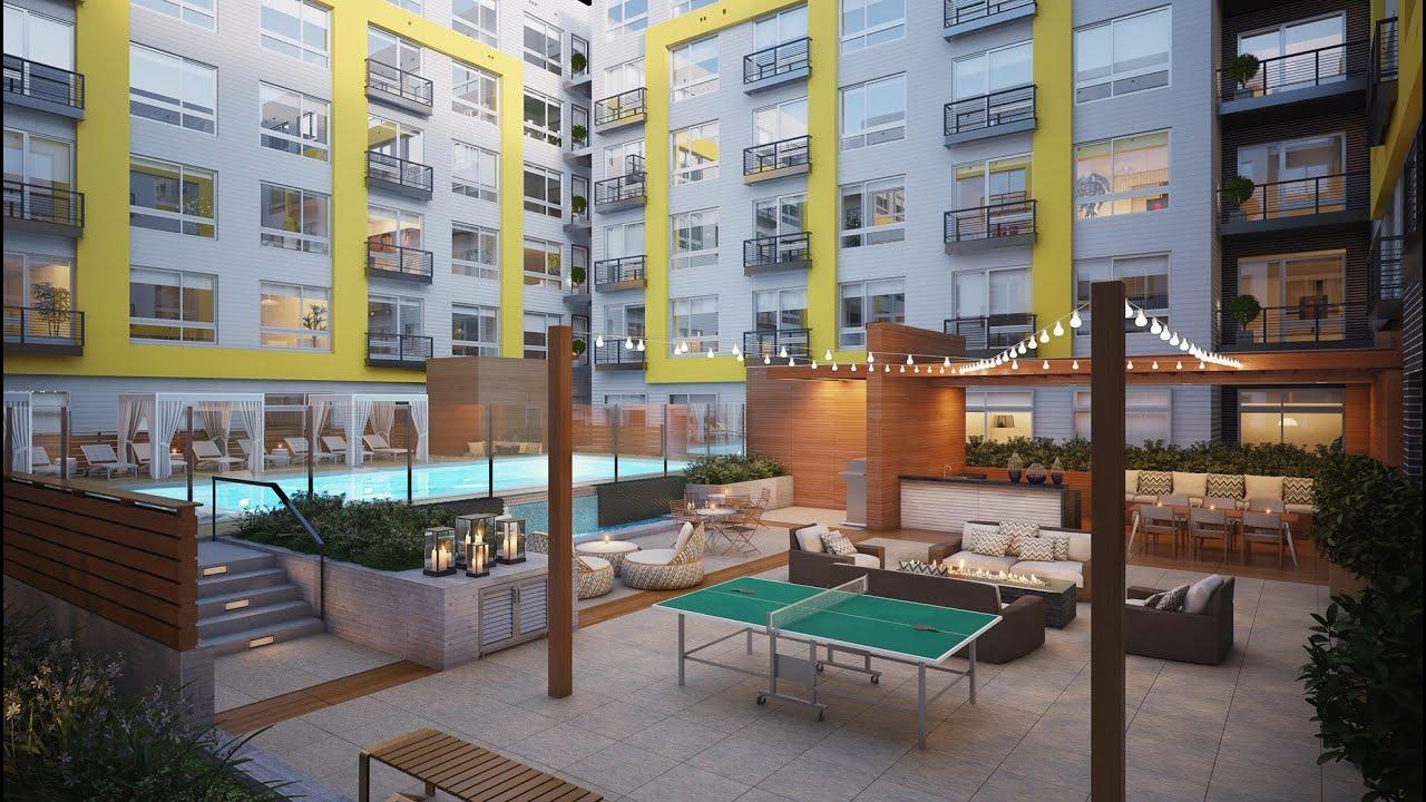 Fenwick Apartments Gopro Tour Lobby Amp Amenity Spaces