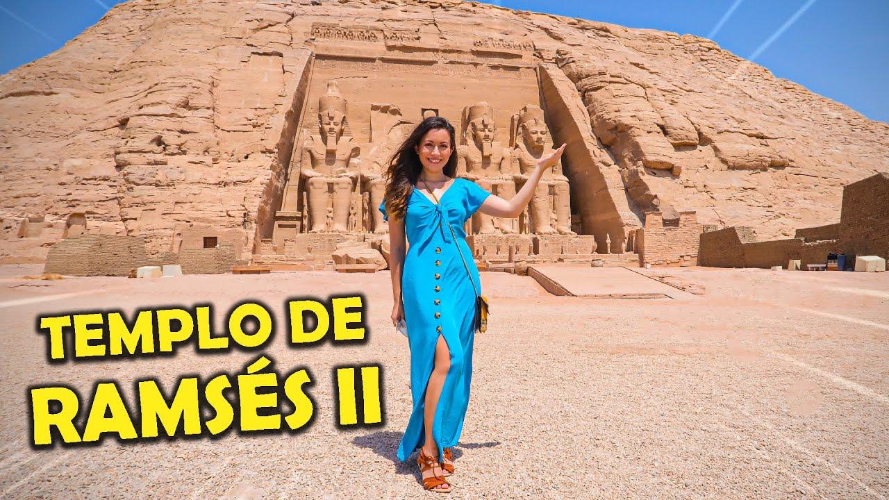 OS MAJESTOSOS TEMPLOS DE RAMSÉS II E NEFERTARI! Tour em Abu Simbel | Brasileira no Egito