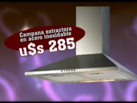 Extractores de aire cata uruguay oferta cocina 2012 - Extractores de cocina silenciosos ...