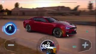 CSR2 copo camaro shift pattern to beat dyno time,   all stage 6,   and tunes for this thing.
