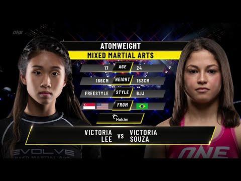 Victoria Lee vs. Victoria Souza   ONE Championship Full Fight