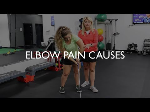 What are the Causes of Elbow Pain in Golfers?