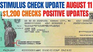 Second Stimulus Check $1,200 Update (POSITIVE)