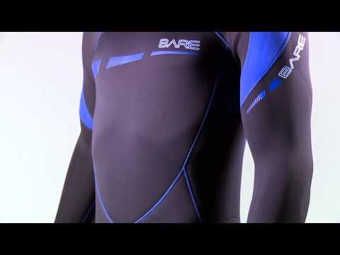 60: Second ScubaLab -BARE Sport S-Flex Wetsuit.
