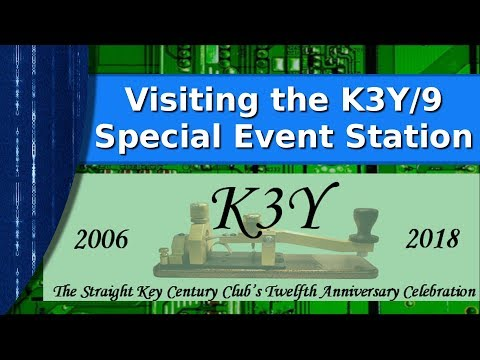 Ham Radio - Visiting the K3Y/9 special event station