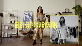 How to Style: Dr. Martens 1460 Lookbook