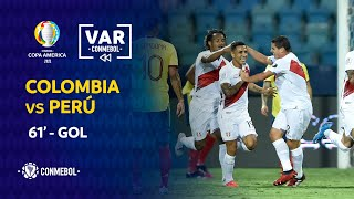 Copa América   Revisión VAR   COLOMBIA vs PERÚ   Minuto 61